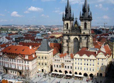 Werken in Praag