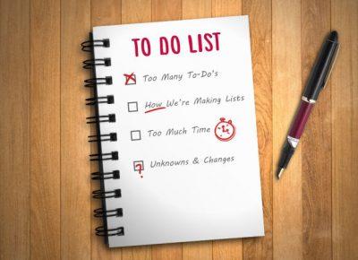 9 dingen die je moet doen