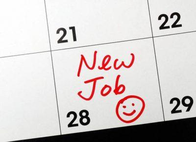 Nieuwe baan in het buitenland